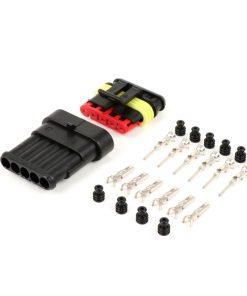 BGM66060P5 Stecker-Set für Kabelbaum -BGM PRO- Typ Serie 060 AM SpecialSeal, 0.85-1.25mm², Wasserdicht – 5 Steckkontakte