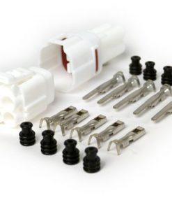 BGM66090P4 Stecker-Set für Kabelbaum -BGM PRO- Typ Serie 090 SMTO MT Sealed, Bihr, 4 Steckkontakte, 0.85-1.25mm², Wasserdicht-
