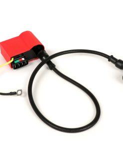 BGM6669KT CDI-Set – inkl. Zündkerzenstecker und Kabel -BGM PRO- Vespa PX (bis Bj.05/2011), Rally200 (Ducati), PK XL, ET3 – Rot