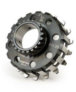 BGM6821S Kupplungsritzel -BGM PRO- Vespa Cosa2, PX (1995-), BGM Superstrong, Superstrong CR – (für 67/68 Zähne Primärrad, schrägverzahnt) – 21 Zähne