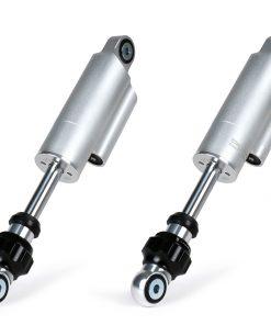 BGM7709 Stoßdämpfer vorne -BGM PRO F16 COMPETITION- Lambretta LI, LIS, SX, TV (Serie 2-3), DL, GP – silber