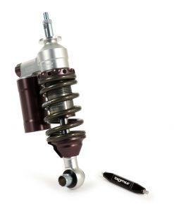 BGM7780 Stoßdämpfer vorne -BGM PRO SC/F16 COMPETITION, 200mm- Vespa V50, PV125, ET3 – grau