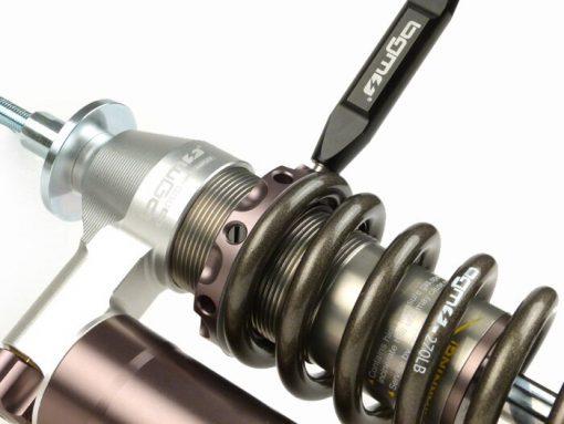BGM7785 Stoßdämpfer vorne -BGM PRO SC/F16 COMPETITION- Vespa GS160 / GS4 (VSB1T), SS180 (VSC1T) – grau