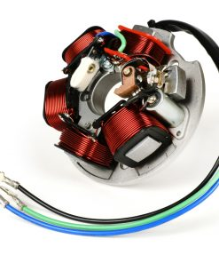 BGM8020 Zündung -BGM ORIGINAL Grundplatte (Kontaktzündung, 3 Kabel, 12V)- Vespa 50 N (D), 50 L (D), 50 R (D), 50 Special (V5A2T (D), V5B3T (D)), 50 SS (D), 50S, 50 SR, 90 SS, PV 125 (VMA1T)