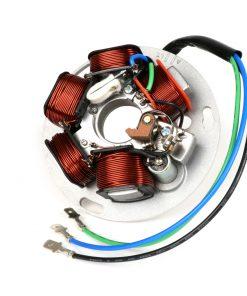 BGM8021 Zündung -BGM ORIGINAL Grundplatte (Kontaktzündung, 3 Kabel, 12V, AC)- Vespa PX – P125X, P150X, italienische Ausführung ohne Batterie, mit 4-fach Blinkanlage