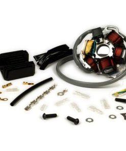 BGM8040KT Zündung-Set -BGM PRO Grundplatte HP V4.0 DC 12V + Wassell/PODtronic Spannungsregler- Lambretta elektronische Zündung