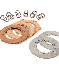 BGM8063KT Kupplungsbeläge -BGM ORIGINAL Typ 6-Federn (PX80, PX125, PX150)- 3-Scheiben Premium Qualität (inkl. Federn und Stahlscheiben)