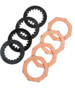 BGM8084KT Kupplungsbeläge Set inkl. Stahlscheiben -BGM ORIGINAL Vespa Cosa2- passend für Kupplungskorb Vespa Cosa2/FL (1992-), PX (1995-), Superstrong, Scooter & Service, MMW, Ultrastrong – 4-Scheiben