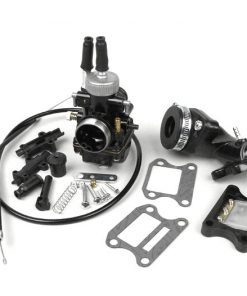 BGM8589K Vergaserkit -BGM Pro 19mm Racing- Peugeot 50 ccm 2-Takt (vertikal) – Peugeot, Honda – HONDA BALI 50, DIO, SFX, SGX SKY, SH 50, SHADOW 50, X8RS, X8RX, SXR, PEUGEOT BUXY 50, ELYSEO 50, ELYSTAR 50, JE…