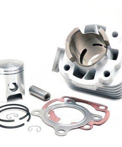 BGM9910 Zylinder -BGM ORIGINAL 50 ccm Aluminium- CPI AC Euro 2 – 12mm Kolbenbolzen – (0° geneigter Auspuffflansch)