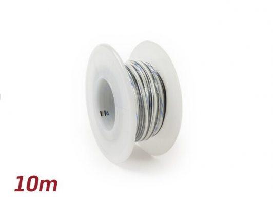 SC9085WHBK Elektrokabel -BGM ORIGINAL 0,85mm²- 10m – weiß, schwarz