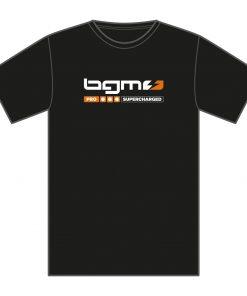 SCK1801M T-Shirt -BGM Supercharged- schwarz – M