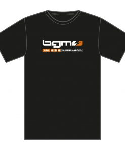 SCK1801XS T-Shirt -BGM Supercharged- schwarz – XS
