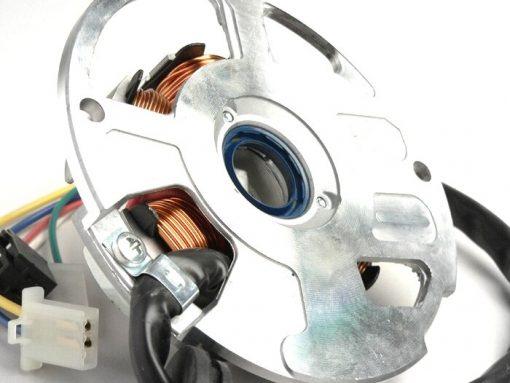 SR3196869 Zündung -BGM ORIGINAL Grundplatte- Minarelli 50 ccm (Ducati) horizontal – 40cm Kabel