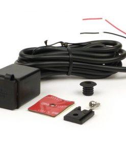 BGM6800SL USB Doppel Steckdose, eckiger Typ, wasserdicht – BGM Pro- Eingangsspannung = 12V DC, Ausgangsspannung = 5V DC/3.1A – 1x 2,1 A USB – Schnell-Ladebuchse + 1x 1,0A USB Schnell-Ladebuchse – für ebenflä…