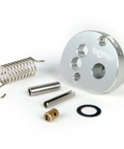 BGM2291 Gaszugrolle -BGM Pro made by JPP, QUICK ACTION, Aluminium CNC- Lambretta LI, LIS, SX, TV (Serie 2-3), DL, GP – silber eloxiert