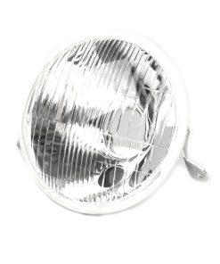 1139616 Scheinwerfer -VESPA Ø=146mm- Vespa PX alt, PX Lusso, Rechtsverkehr – Glas (mit DGM Prüfzeichen) – ohne Fassung