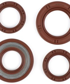 BGM1146 Wellendichtringsatz Motor -BGM PRO, FKM/Viton® (E10 beständig)- Piaggio 125-180 ccm AC/LC 2-Takt