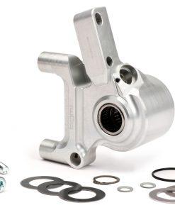BGM2507GSL Bremszangenaufnahme vorne -BGM PRO CNC Touring, Radial, Bremstrommel Typ Piaggio/Grimeca Ø20mm- Vespa PX Disc (1998-), My, 2011 – silbern
