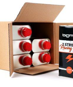 BGM3000K Öl -BGM PRO Oldie Edition (Vintage Blechdose)- 2-Takt Synthetisch – 6x 1000ml – Sparpack