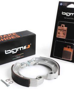 BGM47205KT Bremsbeläge-Set -BGM PRO Sintersport- Vespa PX (2011-2017, vorne Scheibenbremse 'Heng Tong' + hinten Trommelbremse) – Vespa PX125/150 (ZAPM741, ZAPM742)