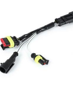 BGM6606BL19 Kabel-Adapter-Kit Blinkerumrüstung hinten -BGM PRO- Vespa GTS125-300 HPE (Modelljahre 2019-) – zur Verwendung von Moto Nostra LED Blinker mit dynamischen LED Lauflicht
