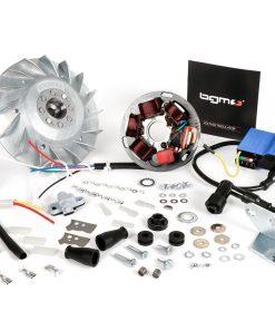 BGM666MV Zündung-Set -BGM PRO 12V Touring- Motovespa Largeframe 125/150 – 125N (V60M), 125S (V60MS), 125N (V101M), 125L (V101M), 125N (542M), 150S (V201M), 150S (502M), 150Sprint (04M), 150GS (04M) – 2300g …