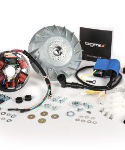 BGM666PXA Zündung-Set -BGM PRO 12V Touring- Vespa P80X, P125X, P200E (1977-1983, Modelle mit Blinker, Spannungsregler und Batterie) – P80X, PX80E (V8X1T), P125X (VNX1T), PX125E (VNX2T), P150X/PX150E (VLX1T),…