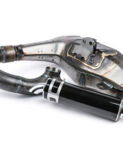 BGM2105SPU Auspuff -BGM PRO Clubman Sport- Lambretta Serie 1-3 – unlackiert