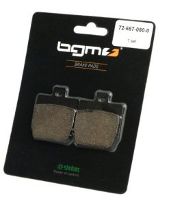 BGM45207 Bremsbeläge -BGM 45,6×52,5mm- MBK Nitro 50ccm 1997 (h), Stunt 50ccm 2000 (v),YAMAHA Aerox 100ccm 2000 (h), Aerox 50ccm 1997 (h), Slider 50ccm 1999 (v), Aerox (R) Q 50ccm 1998 (h)